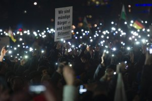 Pegida Supporters March In Dresden